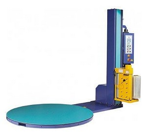 Máquina envolvedora de filme stretch automática