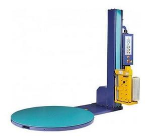 Máquina envolvedora de filme stretch semi automática